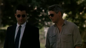 Andy Garcia e Richard Gere in una scena del film