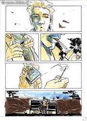 Un'altra pagina da un 24 hour comics della I edizione italiana, i disegni sono di Carmine Di Giandomenico.
