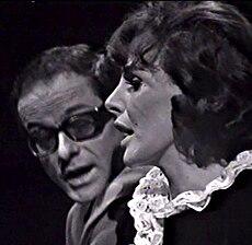 Gino Paoli e Ornella Vanoni nel 1963