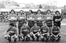 Il Frosinone della stagione 1971-1972, di ritorno in Serie C.