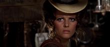 Nel ruolo di Jill McBain in C'era una volta il West (1968)