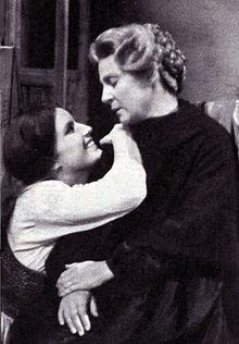 Ilaria Occhini ed Elena Da Venezia nello sceneggiato RAI Tv Graziella 1961