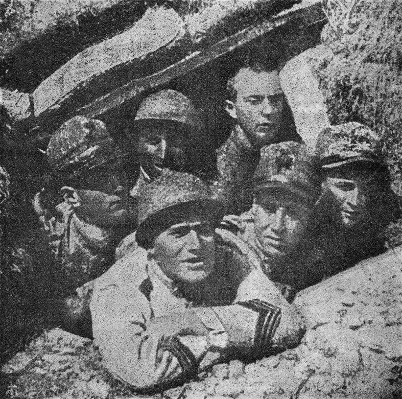 Mussolini sul Carso