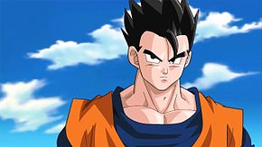 Son Gohan adulto in una scena animata del videogioco Dragon Ball Z: Ultimate Tenkaichi del 2011