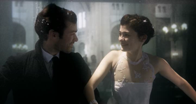 Romain Duris e Audrey Tautou in una scena del film