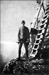 Resultado de imagen de Evola alpinista