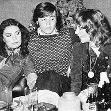 Loredana Bertè, Adriano Panatta e Mia Martini (1973).