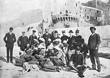 Campo concentramento delle isole Tremiti, prigionieri arabi