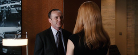 Phil Coulson (Clark Gregg) in Iron Man.
