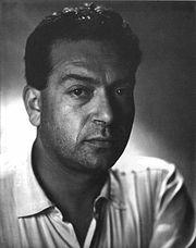 Renato Guttuso nel 1952 (foto di Libero Tosi)
