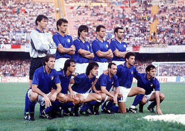 Italia 90 - Nazionale di calcio dell'Italia