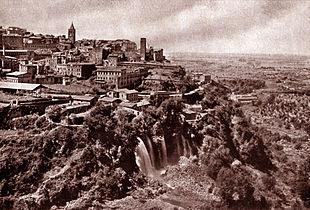 Panorama di Tivoli nel 1939