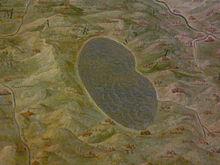 Il Lago Fucino e la regione dei Marsi, come appare raffigurato nella Galleria delle carte geografiche dei Musei Vaticani