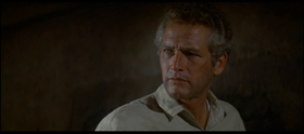 Paul Newman in una scena del film.
