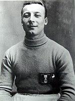 Vincenzo Bosia con la maglia della Nazionale