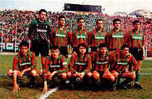 La Ternana del 1991-1992 che vinse il girone B della Serie C1 e conquistò, dopo un'attesa di dodici anni, la promozione in cadetteria.