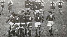 La vittoria della Reggiana nel derby dell'Enza contro i rivali del Parma, nella stagione 1958-1959.
