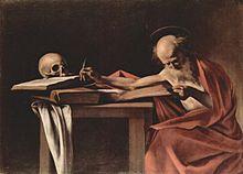 Il San Girolamo di Caravaggio.