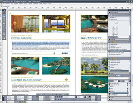 Screenshot di QuarkXPress