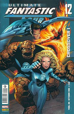 Ultimate Fantastic Four disegnati da Greg Land
