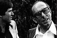 Gianni Morandi con Bruno Zambrini nel 1969