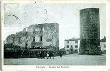 Cartolina degli anni venti che mostra gli