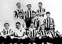 La Juventus è il club più titolato d'Italia, con 33 scudetti dal 1905 (sopra) a oggi.