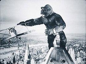 Gorilla On Empire State Building
