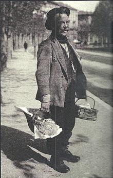Un venditore di rane, 1930