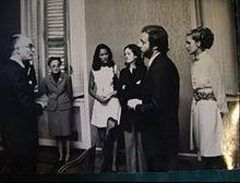 Il matrimonio di Johnny Dorelli con Catherine Spaak (1972)