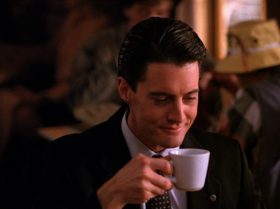"""You know, this is — excuse me — a damn fine cup of coffee!""[2]"