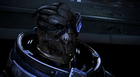 Garrus in Mass Effect 3