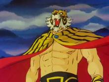 Foto uomo tigre gratis 32