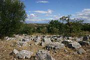 Campi carreggiati nell'alta Murgia: fenomeno tipicamente carsico caratteristico della zona