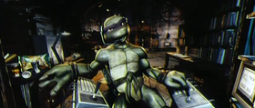 Donatello nel film digitale TMNT