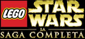 Lego star wars la saga completa logo