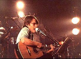 De André in concerto nel 1982
