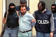Giovanni Brusca tratto in arresto il 20 maggio 1996