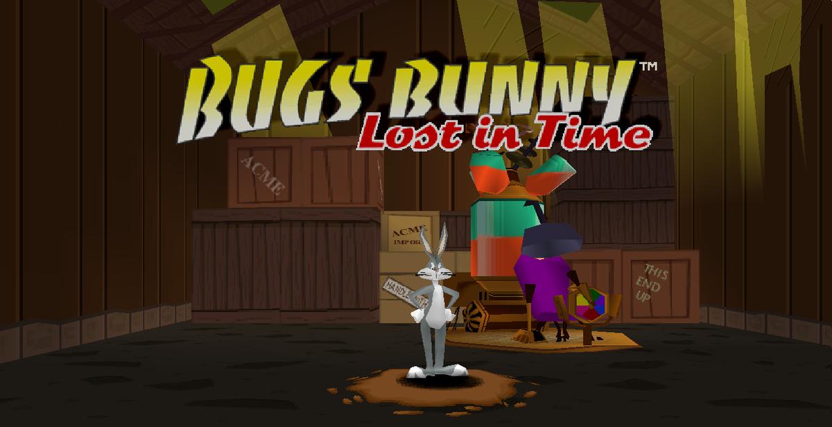 Bugs bunny e taz in viaggio nel tempo psx ita