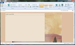 Screenshot di Windows Live Writer