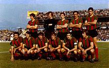 La Ternana artefice della vittoria del campionato di Serie B 1971-1972 e della conseguente prima promozione in A della sua storia. Fu al contempo la prima volta assoluta in massima serie per una squadra dell'Umbria.
