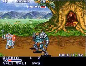 The King of Dragons : il Chierico contro il Re degli Orchi, boss del