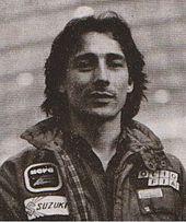 Lucchinelli in un'immagine del 1981.