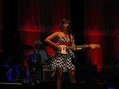 Norah Jones in concerto a Venezia a Piazza S. Marco nel 2010