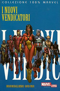 I Nuovi Vendicatori, disegnato da David Finch
