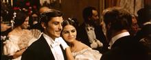 Con Alain Delon in Il Gattopardo (1963)