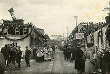 Inaugurazione della via Ferdinandea, (1935)