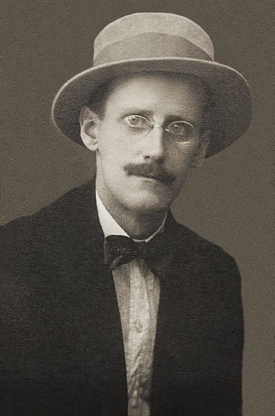 James Joyce nel 1915