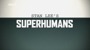 Logo del programma Stan Lee's Superhumans