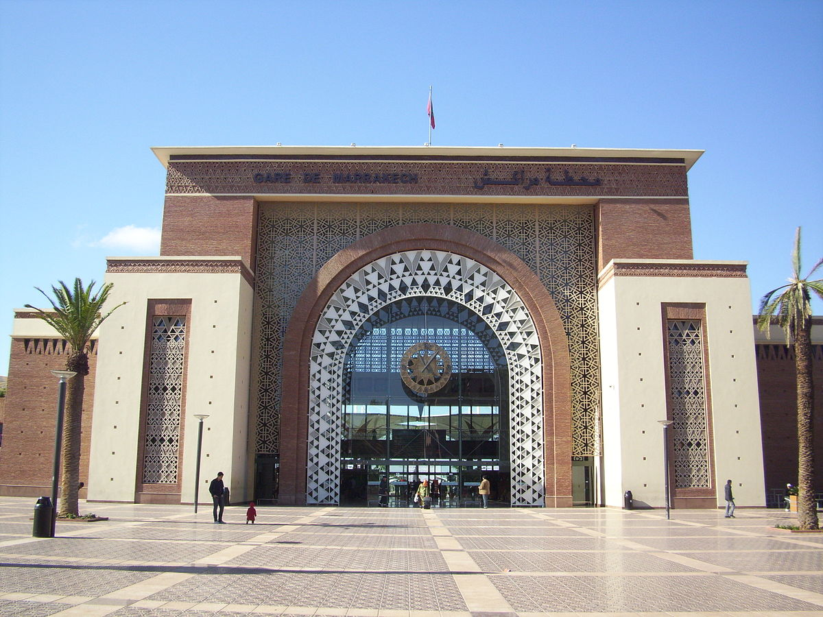 stazione di marrakech wikipedia